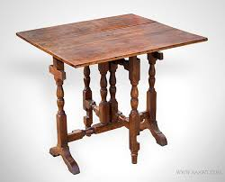 Cherry Drop Leaf Table Antique Furniture Tavern Tables Chair Tables Hutch Tables Harvest