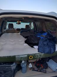 lexus gx470 camping sleeping in the back of a gx ih8mud forum