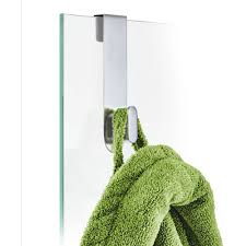 areo glass shower overdoor hook 68905 by blomus yliving