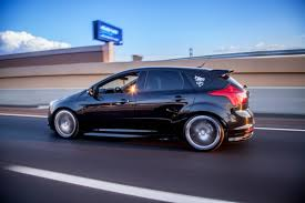 all black ford focus st black rims ford focus st tuning