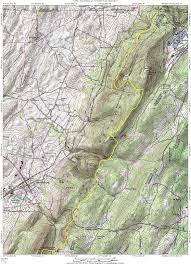 Appalachian Trail Virginia Map by Jedirunner Jottings And Ruminations
