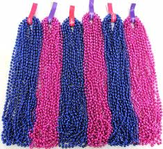 blue mardi gras mardi gras hot pink blue gender reveal baby shower 6 dozen
