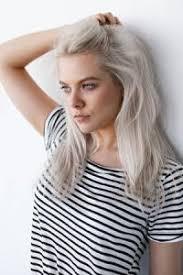 trendy grey hair rose gold silver grey hair colours in aberdeen glasgow