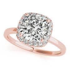 gold cushion cut engagement rings gold engagement ring exclusive cushion cut diamond halo