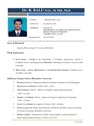 Resume For Mca Student Download Aamir Qutub Resume Docshare Tips