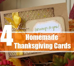 how to make thanksgiving cards ideas for