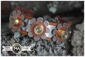 bullet flowers bullet casing cuff bracelets made actually