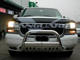 vanguard 00 06 gmc yukon denali 1500 front bull bar bumper