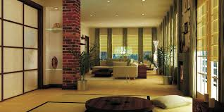 interior remarkable zen home interior ideas with column brick