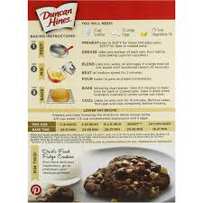 duncan hines cake mix devils food 432g woolworths