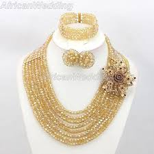 gold crystal beaded necklace images 272 best nigerian beads jewelry set images nigerian jpg