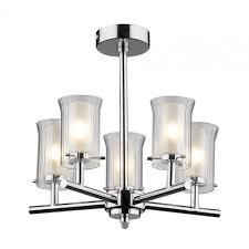 dar lighting elba 5 light bathroom ceiling light ip44 rated