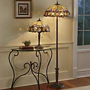 Stained Glass Floor Lamp Floor Lamps Stained Glass Tall Seventh Avenue