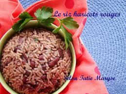 cuisiner haricots rouges le riz haricots rouges la spécialité guadeloupéenne