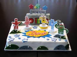 yo gabba gabba sheet cake u2014 liviroom decors yo gabba gabba cakes