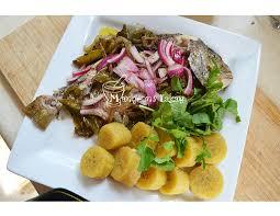 cuisine du poisson poisson gros sel mangeons lakay