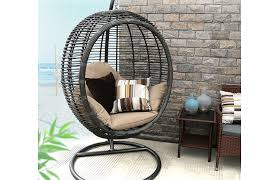 Christopher Knight Home Swinging Egg Outdoor Wicker Chair by Patio Furniture Patio Swing Deals Stunning Dealsc2a0 Images Ideas