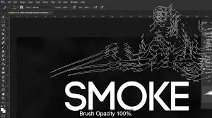photoshop tutorials smoke text effect with skulls 2018 youtube