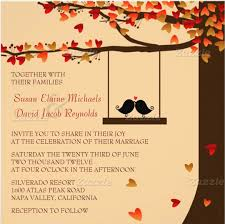 Love Bird Wedding Invitations 24 Fall Wedding Invitation Templates U2013 Free Sample Example