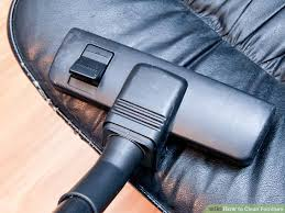 How To Clean A Leather Sofa by 5 Ways To Clean Furniture Wikihow