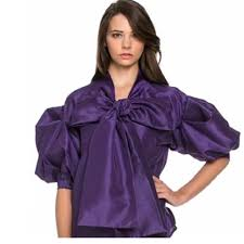 big bow blouse buy purple big bow blouse at social butterfly collection for only