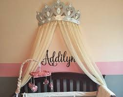 Bed Crown Canopy Interesting Decoration Wall Crown Decor Extraordinary Inspiration