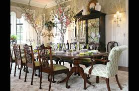 Chinoiserie Dining Room by Designer Wallpaper And Wallcoverings