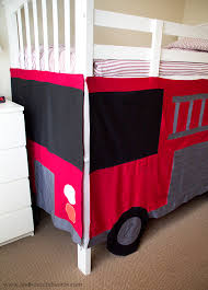 Fire Truck Bunk Bed A Thousand Words Diy Fire Engine Bunk Bed