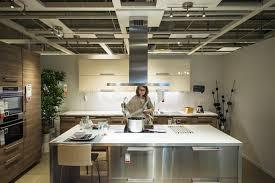 kitchen furniture shopping buying modern luxury kitchen editorial stock image image of