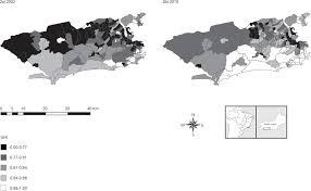 Map Of Rio De Janeiro Disaggregating Health Inequalities Within Rio De Janeiro Brazil