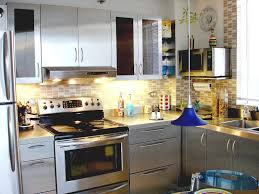 Kitchen Cabinets Stainless Steel Stainless Steel Kitchen Cabinets Colors Ideas