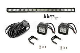 Cube Lights Jeep Jk Ace Engineering 50in Led Light Bar And Cube Lights Package