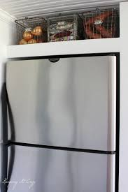Kitchen Fridge Cabinet Above Refrigerator Cabinet Storage Best Home Furniture Decoration
