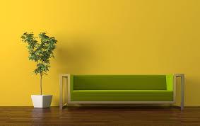 livingroom wall yellow walls pale yellow tv wall and gray sofa for living room
