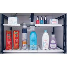 ct2002 under sink adjustable storage shelf range kleen under