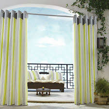Lime Green Striped Curtains 100 Cotton Eyelet Top Contemporary Striped Curtains U0026 Pelmets Ebay
