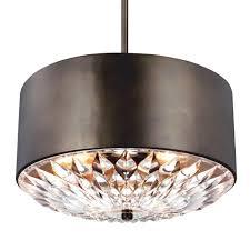 design house kimball 3 light galvanized steel indoor pendant