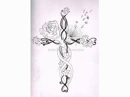 feminine cross tattoos 14 best tattoos ever