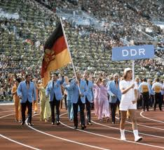 West German Flag A Divided Germany Came Together For The Olympics Decades Before