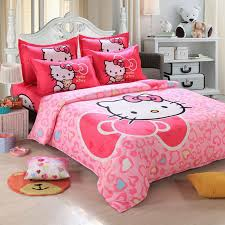 bedroom decor hello kitty themes hello kitty bedding set cute