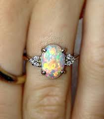 vintage opal engagement rings vintage opal wedding rings wedding rings wedding ideas and