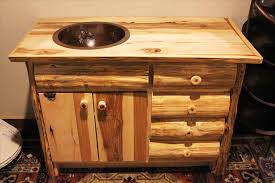 Rustic Wood Bathroom Vanity - rustic bathroom vanities caruba info