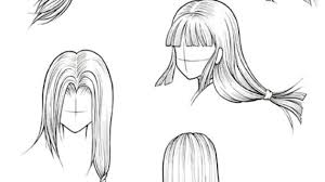 how to draw hairstyles drawing pencil