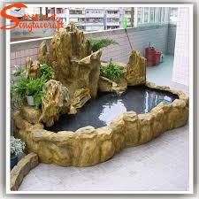 Indoor Rock Garden - chinese factory artificial customized rockery fiberglass rock