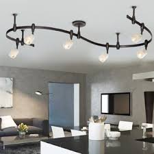 Ceiling Track Light Fixtures Track Lighting You Ll Wayfair