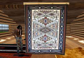 Hanging Rugs On A Wall Second Life Marketplace American Indian Hanging Wall Rug