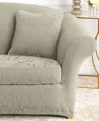 Sofa Slipcovers Sure Fit Sofa 2 Piece Sofa Slipcover Magnificent 2 Piece Cotton Duck Sofa
