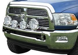 ram 1500 light bar bumper westin off road light bar 2009 2012 dodge ram 1500 polished stainless