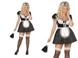 d馮uisement femme de chambre costume femme de chambre grande taille pour xl serveuse