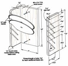 circular saw storage woodworking plans and information at